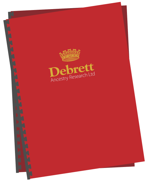 Debrett Ancestry Research report cover
